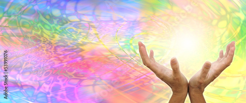 Akustikstoff - Healing Hands Website Banner Head