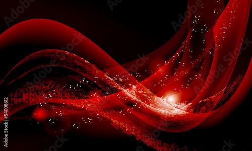 ciemnoczerwone-fale-na-czarnym-tle-abstrakcyjne-tlo