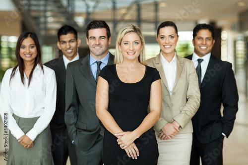 Fotografie, Obraz  business team