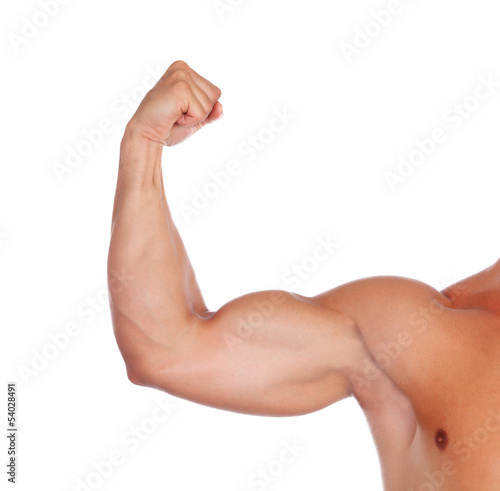 Strong biceps Wallpaper Mural