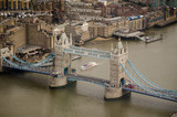 Aerial View, Tower Bridge, London - 54052655