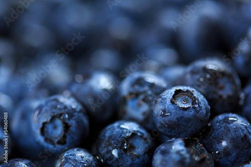 blueberries Fototapete