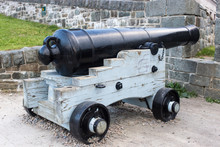 Old Cannon In Quebec City Canada