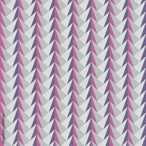 Spoed Foto op Canvas ZigZag abstract geometric pattern
