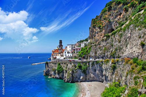 Garden Poster Napels emerald coast, Atrani . Italy