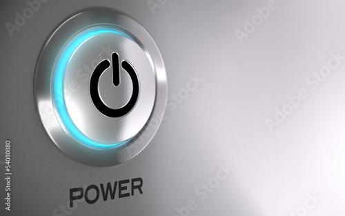 Fotografía  Computer Power Button