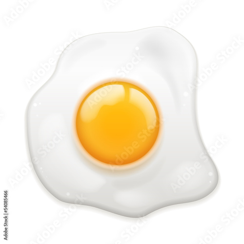 Poster Ouf Fried Egg