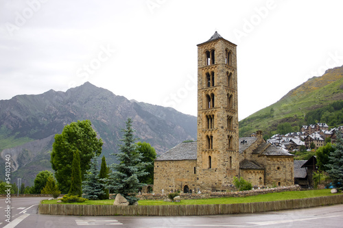 Romanesque church of Sant Climent de Taull in Vall de Boi, Spain