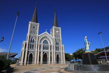 The Catholic Cathedral In Chantaburi, Thailand