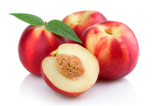 Three Ripe Peach (nectarine) F...