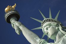 Close-up Portrait Of Statue Of...