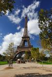 Fototapeta Wieża Eiffla - Eiffel Tower in Paris, France