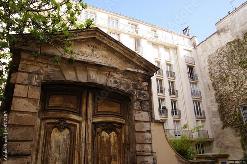 Photo  Ancienne porte de l'Hôtel Raoul - Paris