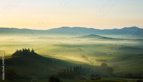 In de dag Toscane Toscane Italie