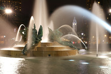 Swann Memorial Fountain In Dow...
