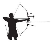 Silhouette Of Archer