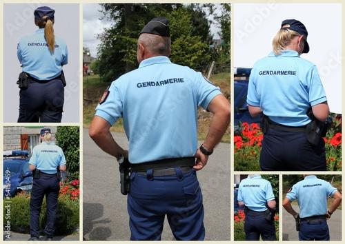 Fotografía  La gendarmerie.