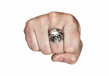 Fist With A Ring In The Form O...