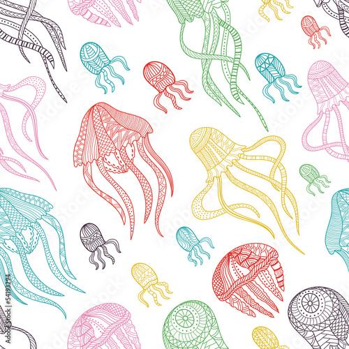 wzór jellyfishes