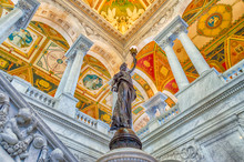 Library Of Congress Main Hall ...