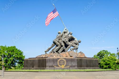 Photo  Marine Corps War Memorial (Iwo Jima Memorial)