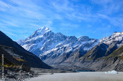 Foto op Aluminium Oceanië Hooker Glacier