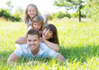 Leinwandbild Motiv family