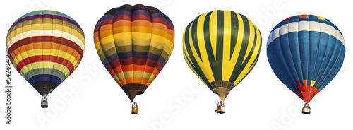 Deurstickers Ballon hot air balloon