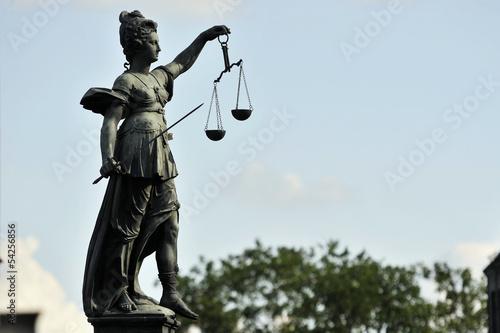 Cuadros en Lienzo Statua della Giustizia