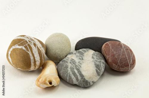 Poster Zen pierres a sable Ciottoli di Mare
