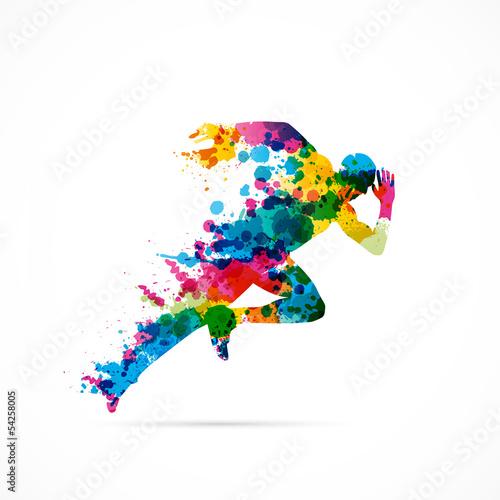 Fotografie, Obraz  logo business