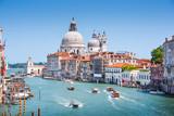Kanał Grande i bazylika Santa Maria della Salute, Wenecja, Włochy - 54265849