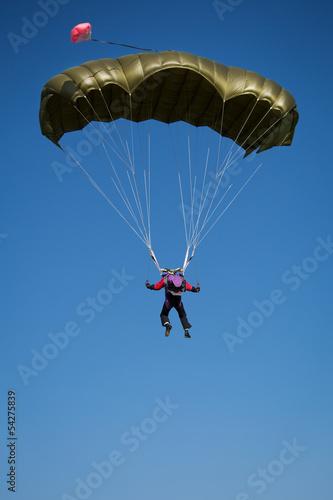 Fotografie, Obraz  Parachutist