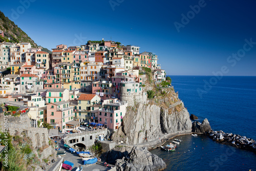 Poster European Famous Place Manarola, Cinque Terre, Italy