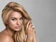 Leinwanddruck Bild - Blond beauty