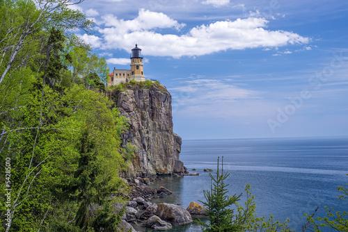 Fotografie, Obraz  Split Rock Lighthouse, Lake Superior