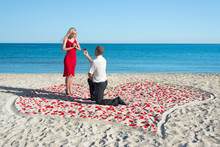Man Making Proposal To His Wom...