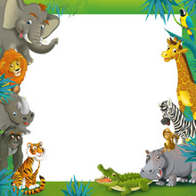 Cartoon Safari - Jungle - Fram...