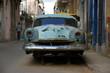 Autowrack in Havanna (Kuba)