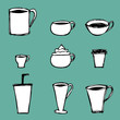 Coffee Cups Icons