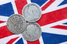 Threepence, Silver Coin, Victoria.