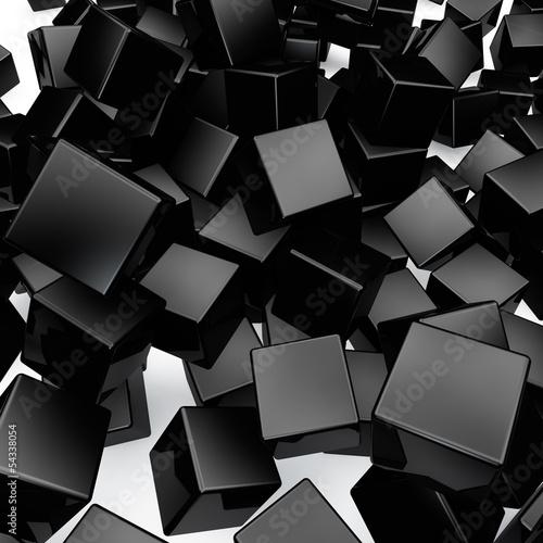 spadajace-3d-czarne-tlo-zaokraglone-kostki