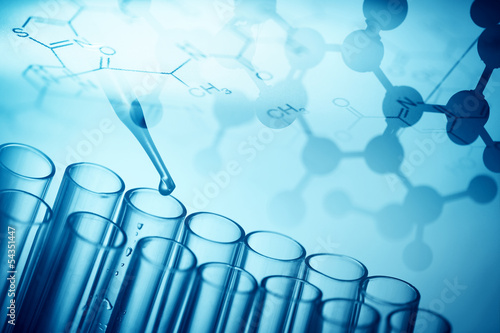 Fotografia  Abstract science background