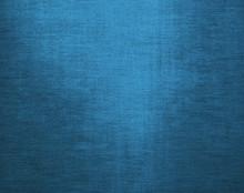 Blue Canvas Grunge Background Texture