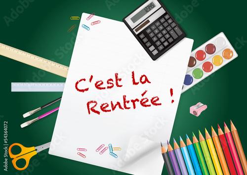 Fotografía  C'est la rentrée !