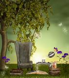 Books' garden