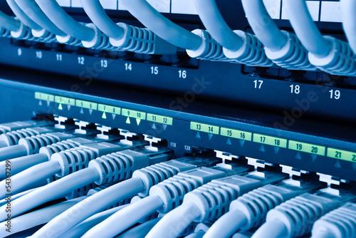 Cuadros en Lienzo Netzwerk Hub