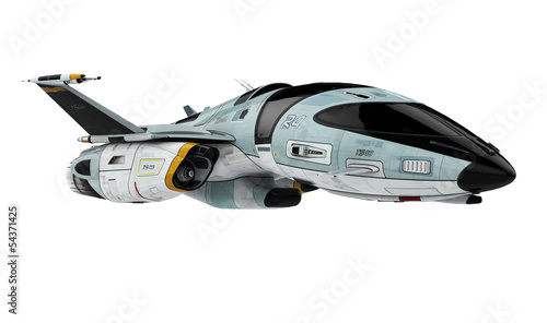 new space ship Wallpaper Mural