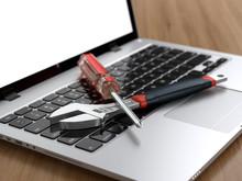 Tools On Laptop