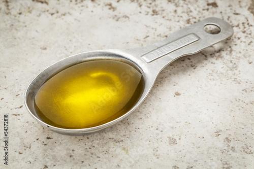 Fényképezés tablespoon of olive oil
